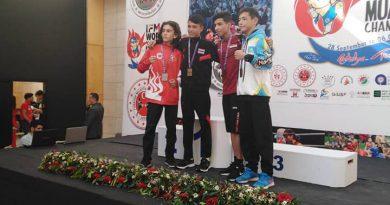 เหรียญทองมวยไทยสมัครเล่นชิงแชมป์โลก(เยาวชน)